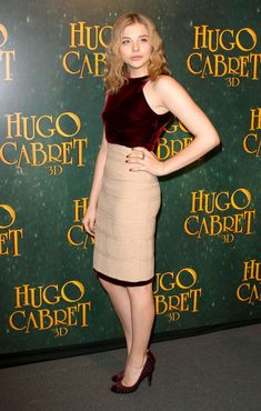 Chloe Grace Moretz - Stars at the Paris Premiere of 'Hugo'