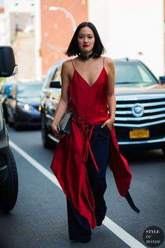 New York SS 2017 Street Style: Tiffany Hsu