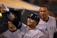 Nick Swisher #33 Of The New York Yankees Is