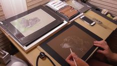 Coloured Pencil Dog Portraits being prepared Dog Portraits, Colored Pencils, Medium, Dogs, Youtube, Colouring Pencils, Pet Dogs, Doggies, Youtubers