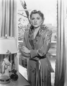"Joan Fontaine in ""Suspicion"""