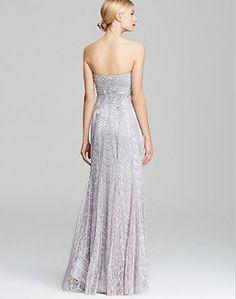 SUE WONG N16170 CORAL Gown w/Appliqué Soutache Grecian Neckline Sz ...
