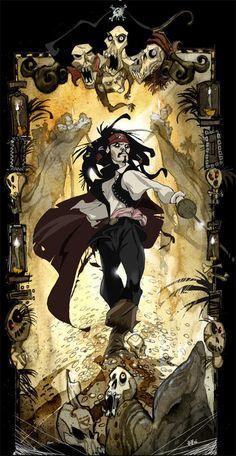 Captain Jack Sparrow by Valentine Pasche