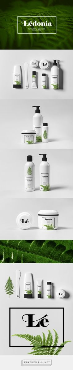 Lédonia Cosmetics 簡約自然包裝 | MyDesy 淘靈感... - a grouped images picture