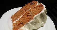 This is my favourite carrot cake recipe - my Mom's. The cake is moist and flavourful and the cream cheese icing on this one is fabulous!