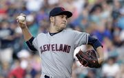 Trevor Bauer pitched well enough to win Friday night, but had to settle for a 2-1 loss to the Mariners.