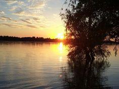 Sunset in Duna