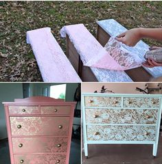 Dresser drawer DIY
