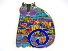 LAUREL BURCH Royal Dalton 1995 CAT FISH Bone China Numbered Plate