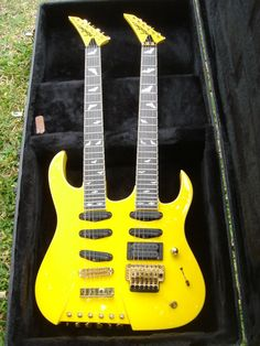 Double neck guitar- jA