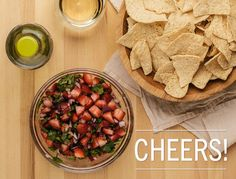 Good Taste - Appetizer idea: Strawberry salsa Want to try a...