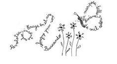 Resultado de imagen de caligramas para niños