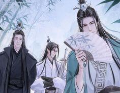 Manga Art, Anime Manga, Anime Guys, Military Guard, The Grandmaster, Shounen Ai, Anime Fantasy, Beautiful Drawings, The Villain