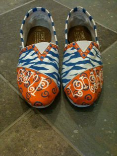 Custom Toms for summer camp.  LOVE!  Good care package item! Must send to Mac!