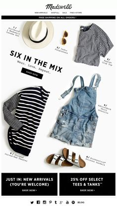 Madewell : Packing List