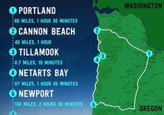 Got a long weekend to explore Portland and the Oregon Coast? Here