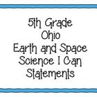 YES THESE ARE ALIGNED TO OUR NEWEST STANDARDS! Help your students with Ohio Science Standards! These posters cover 5th grade Earth and Space Scienc...