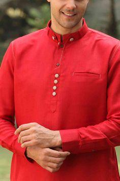 Trendy Red Kurta - Img3