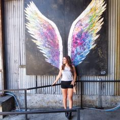 Collette Miller Angel Wings Project Arts District at Angel City Brewery (Traction and 2nd)