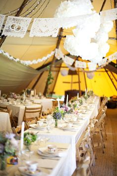 papel picado wedding decor