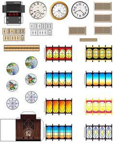 Image result for printable dollhouse furniture
