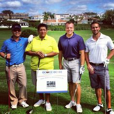 Enjoying a beautiful day, and proudly sponsoring the Orange County Hispanic Chamber of Commerce! #OCHCC #golf #sunnyday #photooftheday