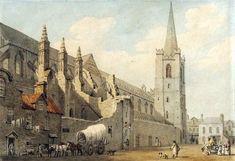 A view of Saint Patrick's Cathedral, Dublin by James Malton, circa 1797
