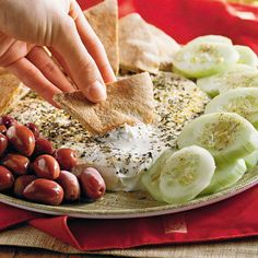 Yogurt Cheese Appetizer