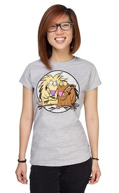 Angry Beavers Fitted Ladies' Tee