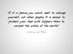anthony de mello quotes the way to love - Google Search