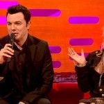 Seth MacFarlane Sings Cyndi Lauper As Stewie and Peter Griffin - http://clickfodder.com/seth-macfarlane-sings-cyndi-lauper-as-stewie-and-peter-griffin/