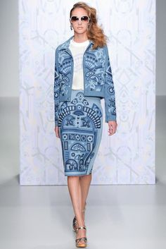Holly Fulton -  Pasarela London Fashion Week S/S 2014
