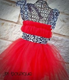 Red Party Dress - Etsy