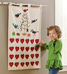 i think it can be done for a whole lot less than 129.00  handmade-wool-felt-bird-advent-calendar