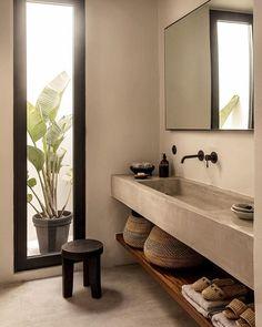 COCOON modern bathroom inspiration. . #bathroom #bath #banheiro #banheiros #design #designer #shower #luxury #luxurybathroom #bathroominspo #decoration #architecturedetails #details #projeto #projecto #project #relax #decoracion #idea #ideas #interior #home #decor #bathtime #roomdecor #room #tendencia #modern #wood . All credits correspond to photographerdesignercreator - Architecture and Home Decor - Bedroom - Bathroom - Kitchen And Living Room Interior Design Decorating Ideas…