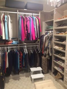 Lady's dream closet!