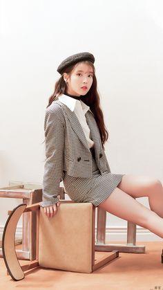 Kpop Outfits, Mode Outfits, Iu Fashion, Korean Fashion, Korean Girl, Asian Girl, Debut Photoshoot, Iu Hair, Eun Ji