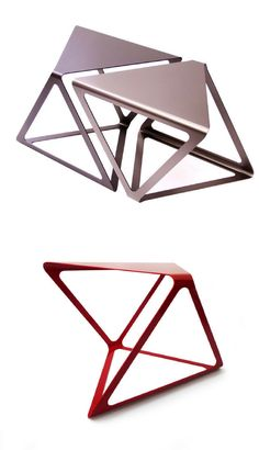 Triangular Multi-Purpose Furniture - The Euclide Can Adapt to a Variety of Different Needs