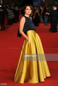 Kasia Smutniak attends the Opening Ceremony during the 8th Rome Film Festival at Auditorium Parco Della Musica on November 8, 2013 in Rome, Italy.