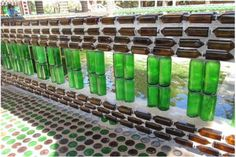 Unique Bottle Recycling-Building a Thai Temple from One Million Bottles  [ Read More at www.homesthetics.net/unique-bottle-recycling-building-thai-temple-one-million-bottles/ © Homesthetics - Inspiring ideas for your home.]