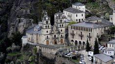 El santuario barroco de As Ermitas, en O Bolo (Ourense), pertenece a la comarca de Valdeorras