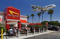 Fast Food Fly Through.  Do you want fries with that?