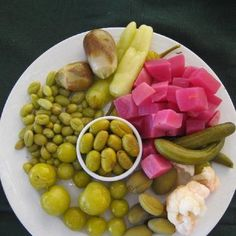 pickles olives w makdouss