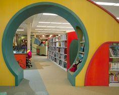 displays/entrance to youth area. Roanoke County (Va.) Public Library ...