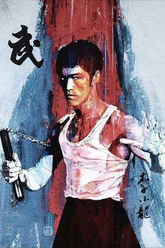 无标题 — kungfu-online-center: Wow,so cool bruce lee! Arte Bruce Lee, Bruce Lee Kung Fu, Bruce Lee Poster, Steven Seagal, Jackie Chan, Chuck Norris, Karate, Bruce Lee Pictures, Bruce Lee Martial Arts
