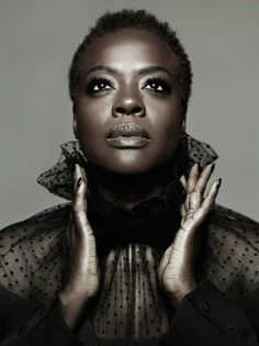 "Viola Davis By Ruven Afanador (Makeup by Francesca Tolot for Cloutier Remix) - ""How to Get Away with Murder"" is my drug!"