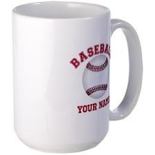 Personalized Name Baseball Mug