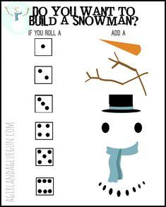 free snowman game