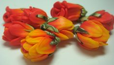 How-to-make-flower-beads-from-Polymerclay by Ponsawan