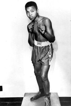 Cassius Clay , later to become Muhammad Ali, at 11. RIP.